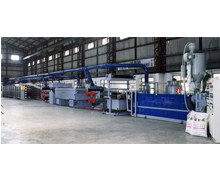 PP & PE Flat Yarn Making Machine Whole Plant Project for Cement / Woven Bag