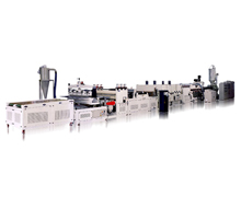 2100mm PP/PC Hollow Profile Sheet Extrusion Line
