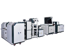 "Servo Motor Drive Non-waste ""S"" Punch Perforated Garbage Bag on Roll Making Machine BFWFA-V-2"