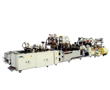 "Automatic ""Servo Motor Drive"" Twin Track File & Clip Bag Making Machine-FCV700-2"