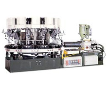 NSK-294 Single Colored Automatic Rotary Type Sole Jointing & Ejecting Molding Machine