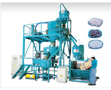 Complete Installation of Agglomerator Machine Series