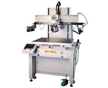 Motor-Driven Flat Bed Screen Printing Machine