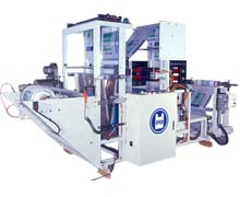 Bag Embossing And Gusseting Machine
