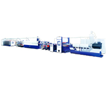 PP/HDPE Flat-yarn-making Machine for Woven / Cement-bag / Container-bag Plant