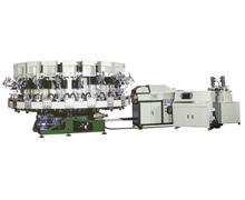 NSK-717 Rotary Type Automatic PU Single Density Injection Moulding Machine