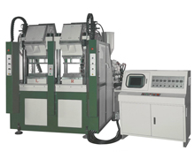 NSK-322 Two Color Vertical Type Automatic Plastic Injection Moulding Machine