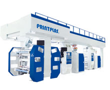 High Speed Stack Flexo Printing Machine  PKF-4HS series