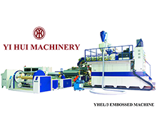3-LAYER PE EMBOSSING MACHINE YHEL-3