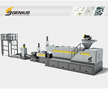 Two Stage Hopper Feeding Recycling Machine