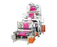 THREE LAYER BLOWN FILM PLASTIC INFLATION MACHINE  KMTL-E3