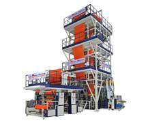LDPE Five-Layer Co-Extrusion High Speed Blown Film Line