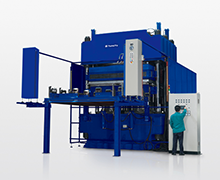 Jumbo Size Compression Molding Machine