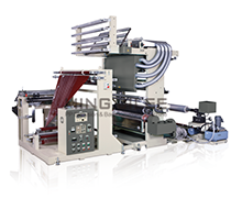 Sandwich Folding Machine With 1 Colors Rotogravure Printing