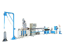 PVC cover Iron wire extrusion equipment