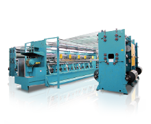 Double Needle Bar Raschel Machines-WMD