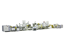 Two Layer Co Extrusion Lamination Machine For Flexible Packaging Film