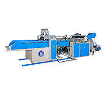 Automatic High Speed 4 Line T-Shirt Bag Making Machine