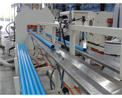 Twin Screw Extruder for PVC Pipe
