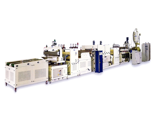PP/PC Hollow Profile Sheet Extrusion Line
