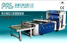 Side Sealing Machine with Heat Slitting Seal