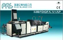 T-Shirt & Garbage Bag Making Machine in Line Auto Package
