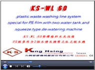 Plastic Waste Washing Line System