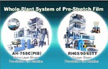 Whole Plant System of Pre-stretch Film