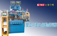 Two Color Vertical Injection Molding Machine