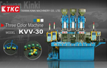 Three Color Vertical Injection Molding Machine