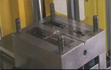 Vertical clamping vertical injection double slipper table series