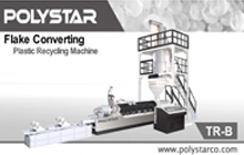 TR-B Plastic Recycling Machine