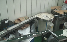 Double Cap Pad Stuffing Machine