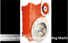 Gearbox for Electric Injection Molding Machine