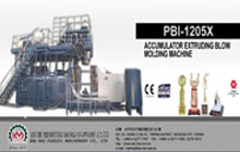 Accumulator Extruding Blow Molding Machine