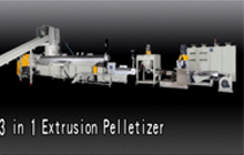 3 in 1 Extrusion Pelletizer