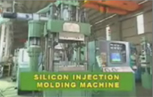 Solid Silicon Injection Molding Machine