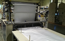 Double Deck 2 Tracks T-Shirt Bag & Bottom Sealed bag Making Machine Without In-Line Punching Unit