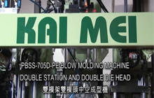 Double Station With DoubleDie Head Blow Molding Machine