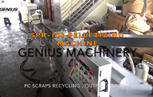 SPR-100 Recycling Machine for Polycarbonate PC