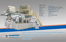 Continuous Type CLB Three Layer Double Station Blow Moulding Machine