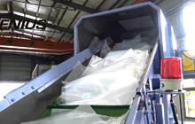 KRIEGER 100 Cutter Compactor Recycling Machine_LDPE Film