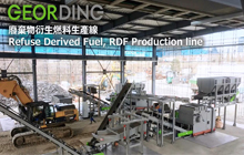 Refuse Derived Fuel, RDF Production Line
