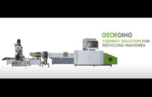 Plastic Waste Recycling Machine, GD-150-3IN1 With Twin Pillar Filter