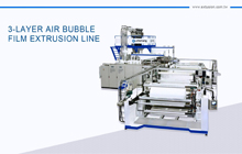 "72"" Wide 3-Layer Air Bubble Machine"