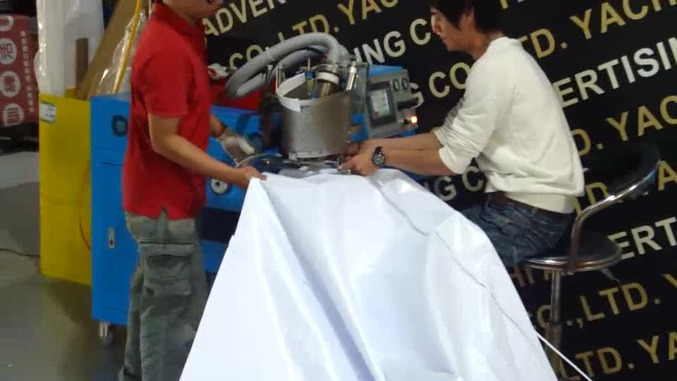 Auto Hot Air Welding With Rope Insertion Machine (Side Welding)