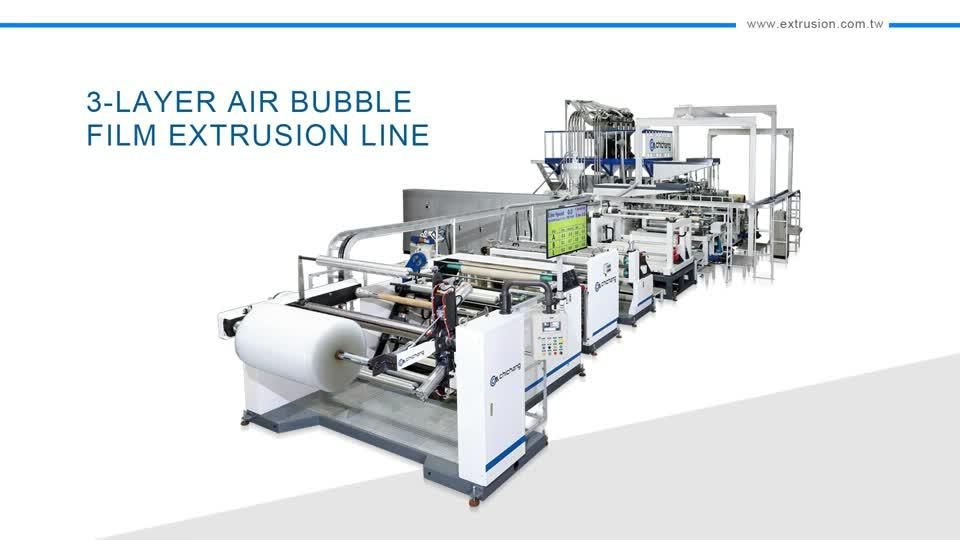 3-Layer Air Bubble Film Extrusion Line