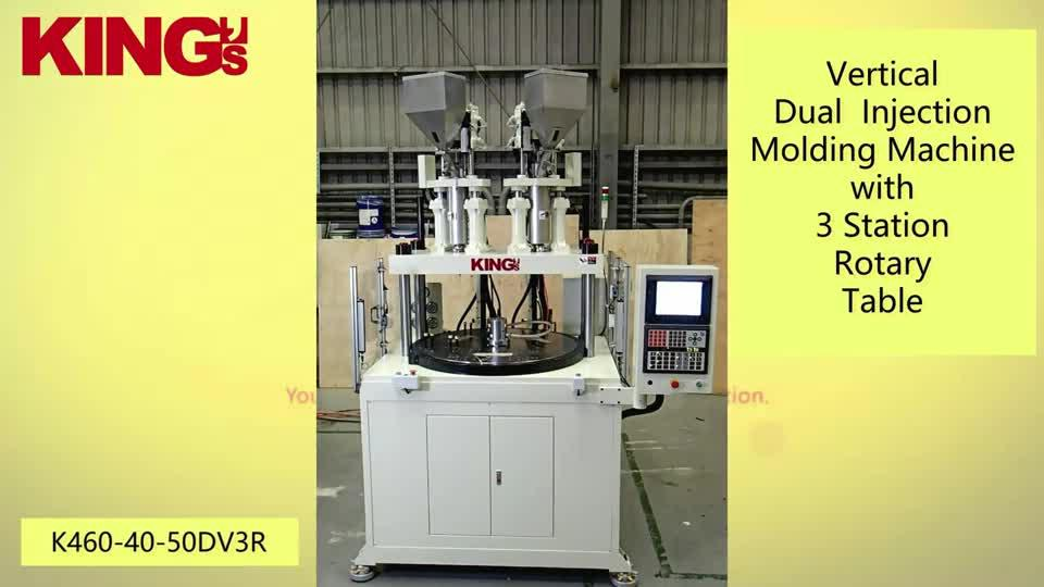 Vertical Dual Injection Molding Machine