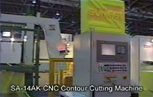 CNC Contour Cutting Machine (Knife Type)