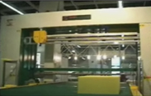 CNC Contour Vertical Cutting Machie (Knife Type)